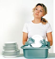 мытье посуды.